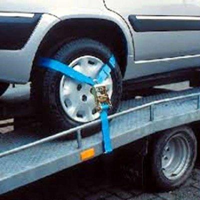 Barntools Driepunts auto spanband