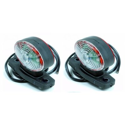 Barntools LED Set Breedte Lampen Ovaal