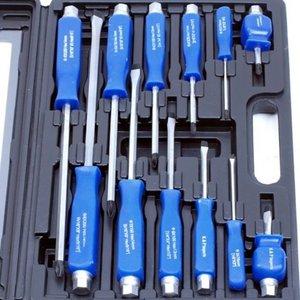 Schroevendraaier set zwaar blauw