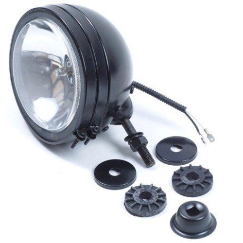 Verstraler zwart 150 mm