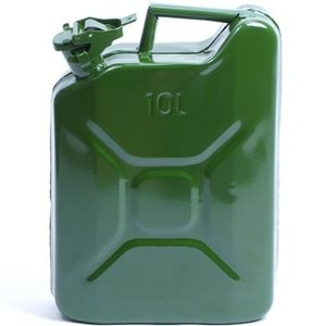 Jerrycan metaal 10 L