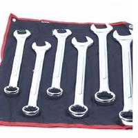 Steek/ringsleutel set metrisch 6 delig 34-50 mm