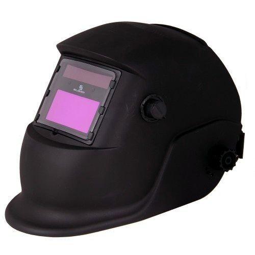 Automatische lashelm zwart