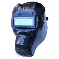 Automatische lashelm beer zwart