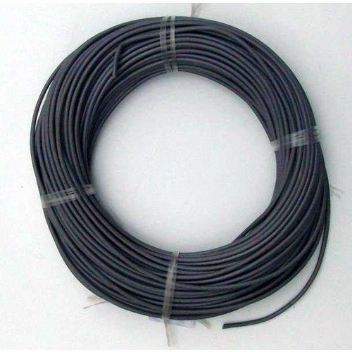 Montagedraad 1 x 1,5 mm2 zwart