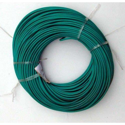 Montagedraad 1 x 1,5 mm2 groen