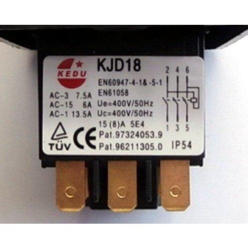KJD18 schakelaar 380 volt