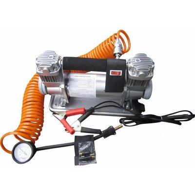 Barntools Compressor Bandenpomp 2 Cilinder 12 Volt