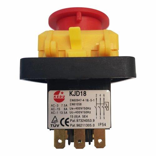 KJD18 schakelaar 380 volt + A1