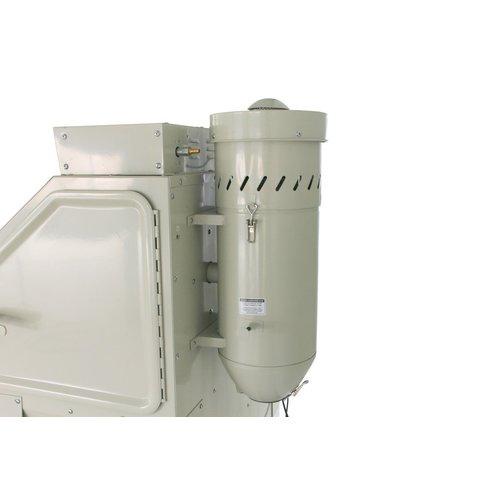 zionair Zandstraalkast 420 liter met voorklep en 2 zijdeuren