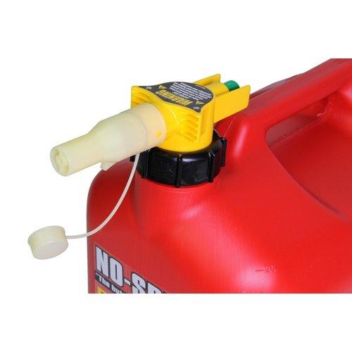No Spill Jerrycan 5 liter met schenksysteem