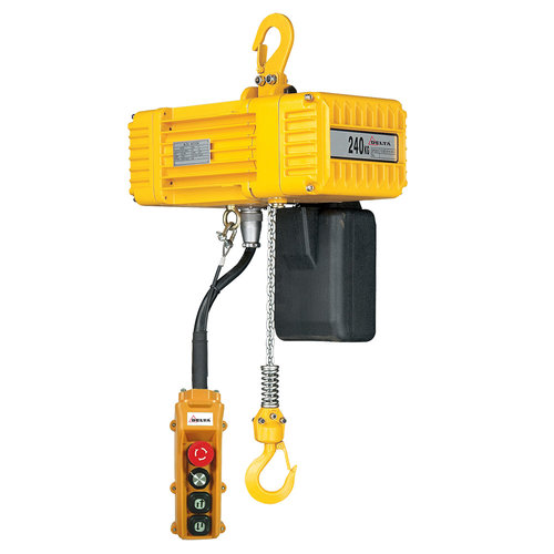 Delta Elektrische kettingtakel 230 volt 240 kg 3 meter