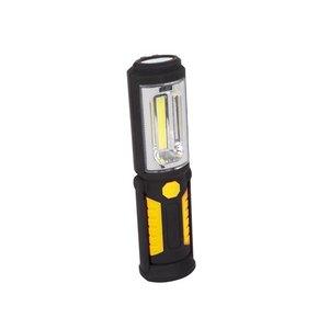 LED handlamp met magneet zwart