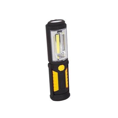 Barntools LED handlamp met magneet zwart