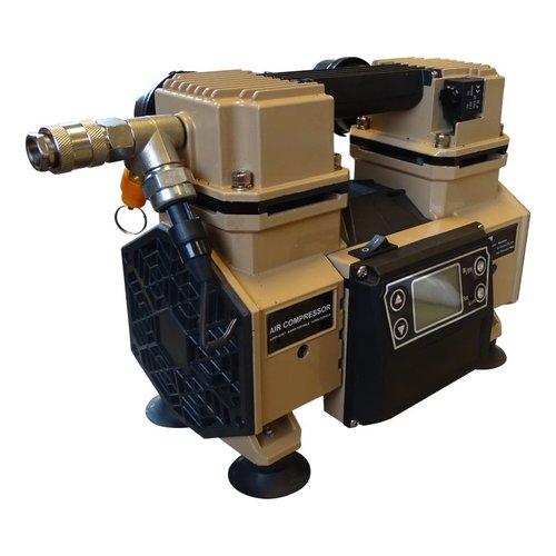 Compressor op accu