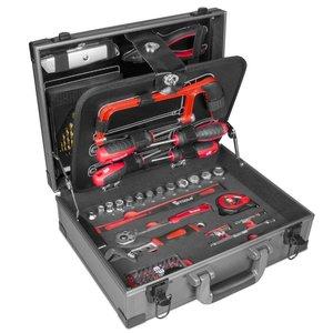 MW tools Gereedschapskoffer 91 delig
