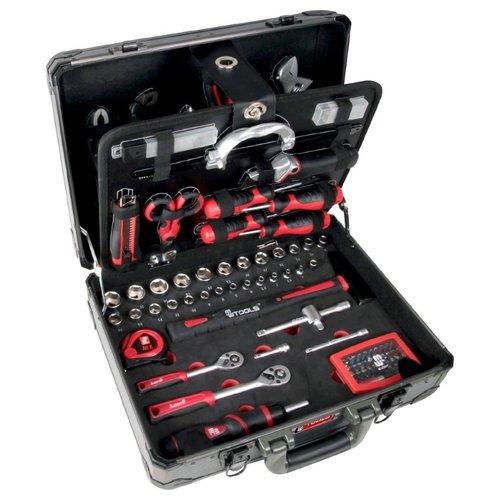 MW tools Gereedschapskoffer 128  delig