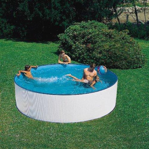 Summer fun zwembad Sark set grijs rond 350