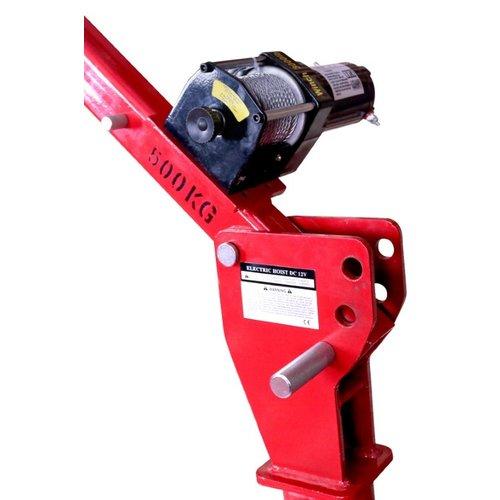 MW tools aanhangerlaadkraan / laadkraan 300/500 kg +lier