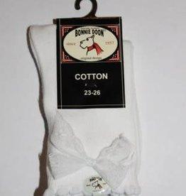 Bonnie Doon Bonnie Doon Sokje wit met kant