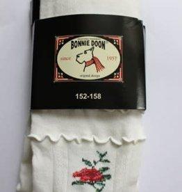 Bonnie Doon Bonnie Doon Maillots off white met bloemen