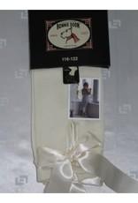 Bonnie Doon Bonnie Doon Legging off white met satijnen linten S/M/L