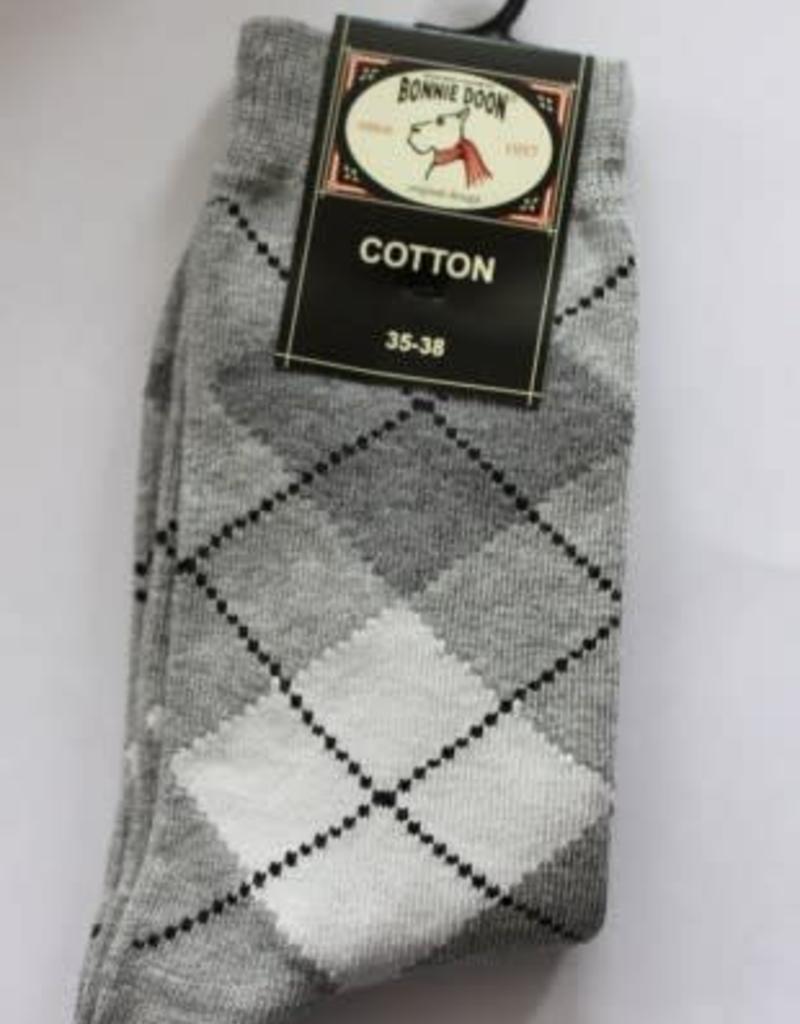 Bonnie Doon Bonnie Doon Sok grijze wieber