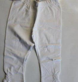 Rumble Rumbl legging wit met rimpel stukje