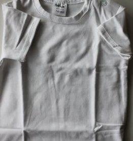 Blue Seven shirt wit met drukknoopjes langs de hals