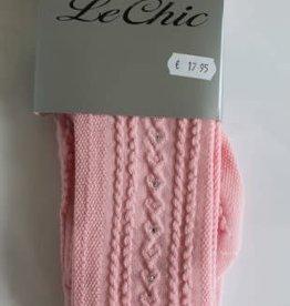 Le Chic Le Chic Maillots l.roze met glittersteenjes