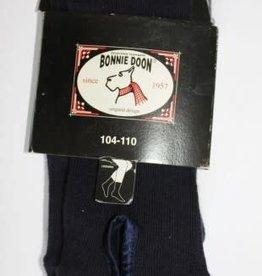 Bonnie Doon Bonnie Doon Legging d.blauw met nostalgisch knoopje