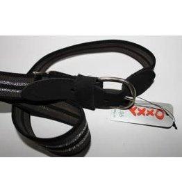 Oxxy Oxxy Riem zwart/zilver/grijs  elastisch en verstelbaar