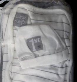 Dirkje Dirkje First outfit off white maat 56