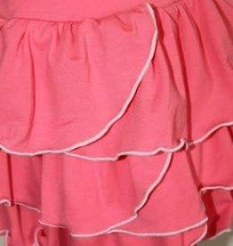 Porto Azul Rok hard roze met roesel lagen