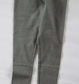 Lofff Lofff Legging donkerblauw met zilveren wieber
