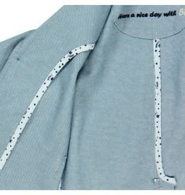 Boboli Boboli Blazer licht blauw van linnen