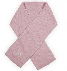 Jollein Jollein Sjaal Diamond knit vintage pink