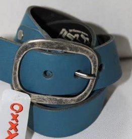 Oxxy Oxxy Riem Blauw petrol met grote gesp