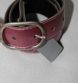 Oxxy Oxxy Riem leder hard roze metallic