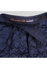 Boboli Boboli Rok donkerblauw gewatteerd