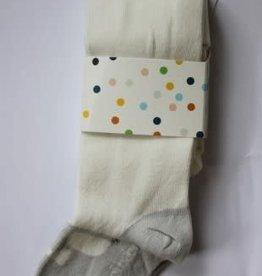 Boboli Boboli Maillots off white met licht grijs voetje