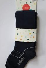 Boboli Boboli Maillots donkerblauw met schoen voetje en glittersteentje