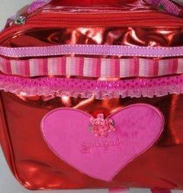 Souza Tas rood met roze hart