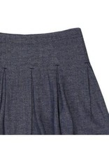 Boboli Boboli Rokje grijs tweed verstelbaar in de taille