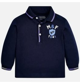 Mayoral Polo donkerblauw M&F