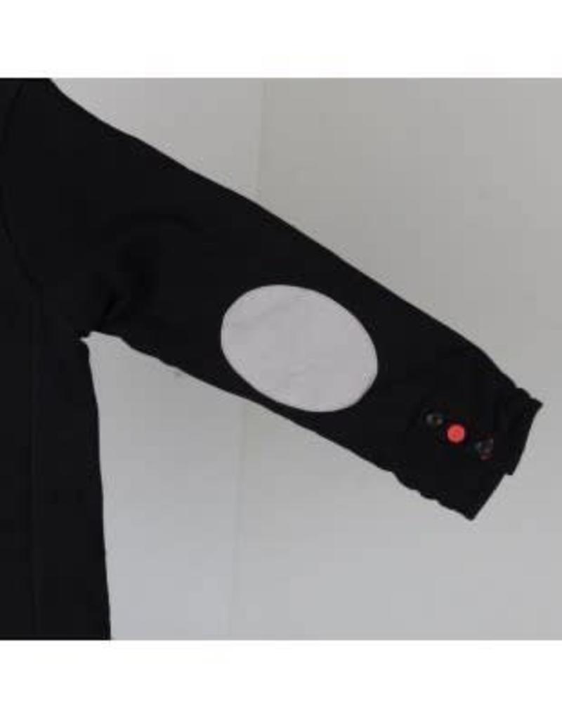 Boboli Boboli blazer zwart van soepel tricot