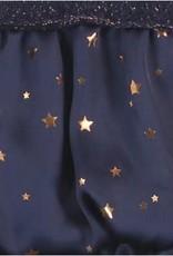 Boboli Boboli Jurkje donkerblauw met satijnen rokje