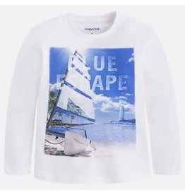 Moscow Mayoral Shirt Blue Escape wit