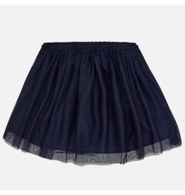 Mayoral Mayoral Rok tulle donkerblauw