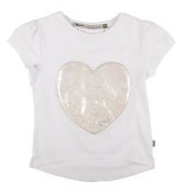 Rumble Rumble Shirt met glimmend parelmoer hart